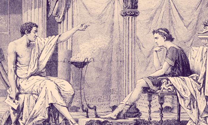 Aristóteles, que enseñó a Alejandro Magno, creía que la práctica de la virtud era la base de un buen liderazgo. (Everett Historical/Shutterstock)