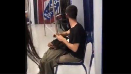 Joven causa pánico en Metro de Madrid tras afilar cuchillo en vagón: pero no era lo que pensaban