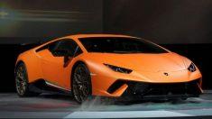 Encuentran abandonado un Lamborghini Huracan de 300.000 dólares en una zanja