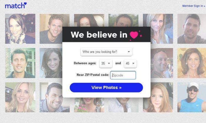 Una captura de pantalla de Match.com (Match.com)