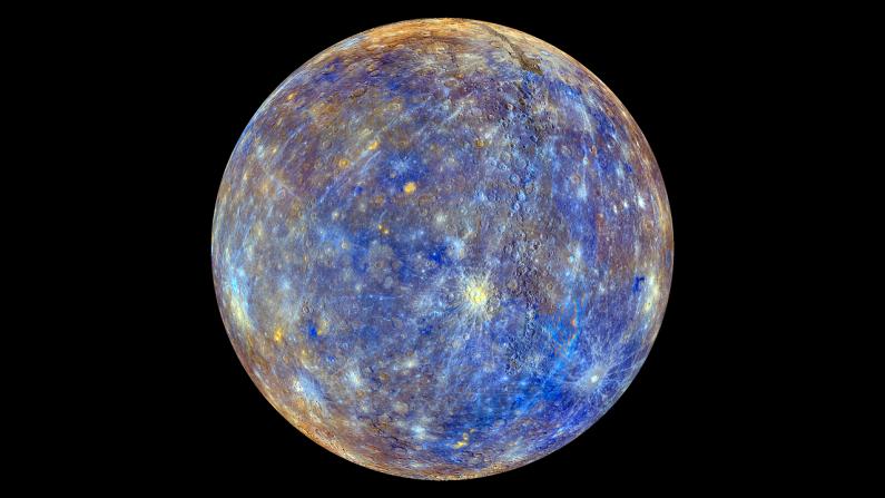 Planeta Mercurio. (Crédito: Pixabay)