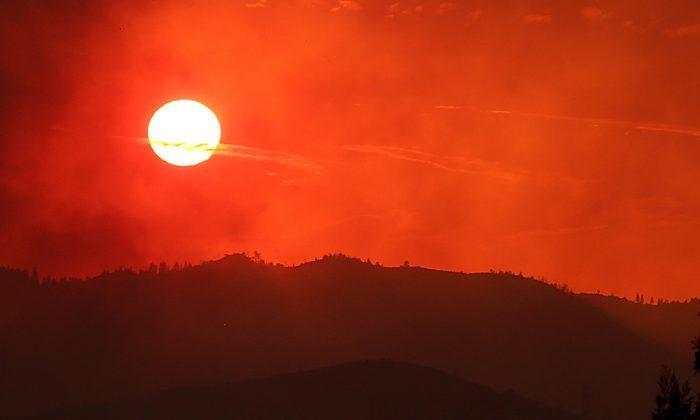 Sol poniente. (Justin Sullivan/Getty Images)