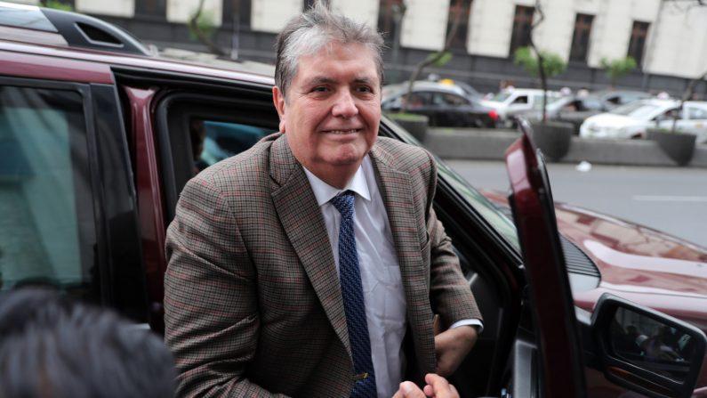 El expresidente peruano Alan García. EFE/Archivo
