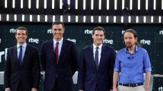 España: el primer debate electoral acentúa los bloques a izquierda y derecha