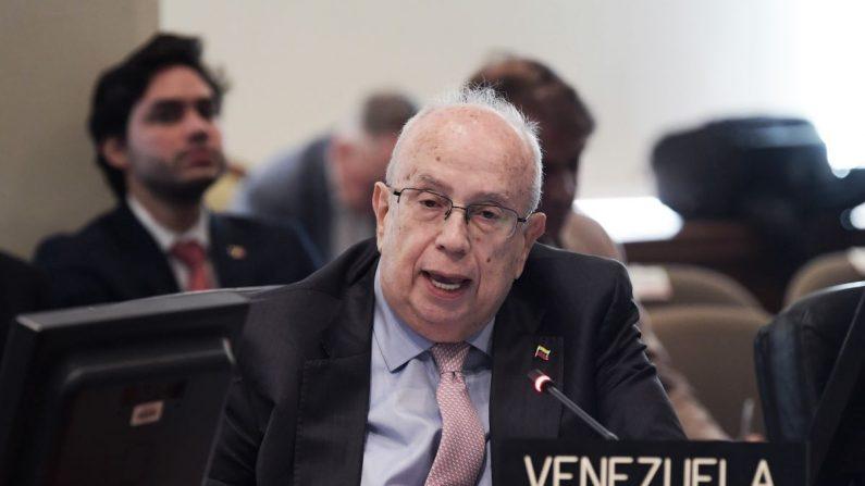 Gustavo Tarre, nuevo embajador de Venezuela en OEA. EFE