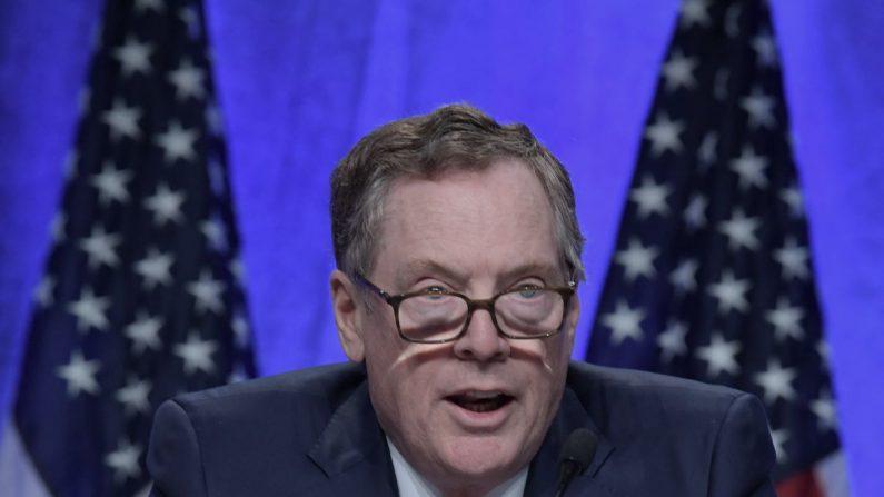 Representante de Comercio Exterior de EE.UU., Robert Lighthizer. EFE/Archivo