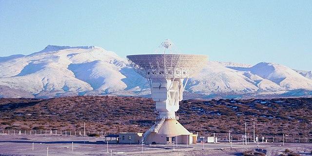Base china en Neuquén, Argentina. Foto Wikipedia.