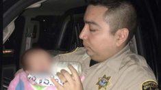 Policías detienen a un papá conduciendo ebrio y alimentan a los 3 niños hambrientos dentro del auto