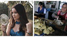 Ni fiesta de 15 ni viaje: joven invitó a toda su familia a preparar tamales para gente necesitada