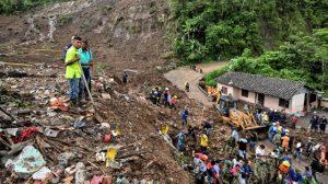 Al menos 14 personas fallecen por un deslizamiento en el suroeste de Colombia