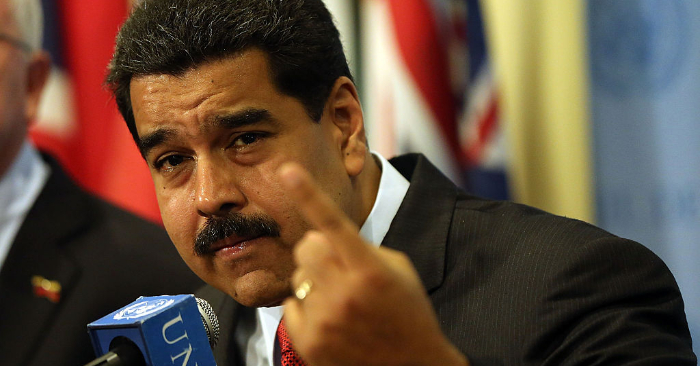 Nicolás Maduro. Foto de Spencer Platt/Getty Images.