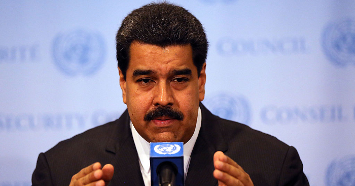 Nicolás Maduro en la sede de la Organización de las Naciones Unidas (ONU) en Nueva York, el 28 de julio de 2015, en la ciudad de Nueva York. Foto de Spencer Platt/Getty Images.