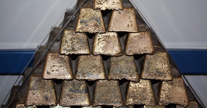 Barras de oro. Foto de maxpixel CC0 Public Domain.
