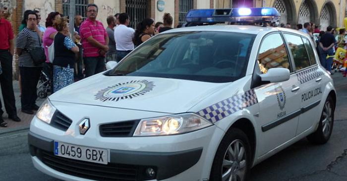 Foto de Policía local española. Wikipedia.