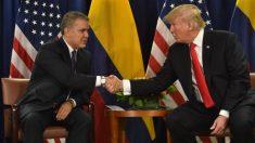 """Trump dijo que Colombia """"no ha hecho nada"""" para reducir la salida de droga hacia EE. UU."""