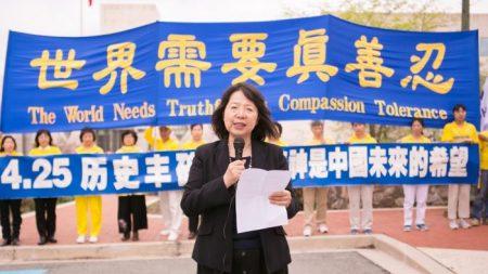 Una manifestación silenciosa recuerda la apelación histórica de hace 20 años