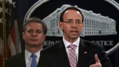 Vicefiscal general de EE.UU. Rod Rosenstein deja su cargo finalizada la 'trama rusa'
