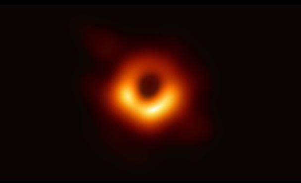 Obervación del Agugero negro de Messier 87. (Captura de vídeo- ESO)