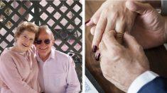 Una viuda de 93 años pensó que no volvería a amar, hasta que un caballero encantador la conquistó