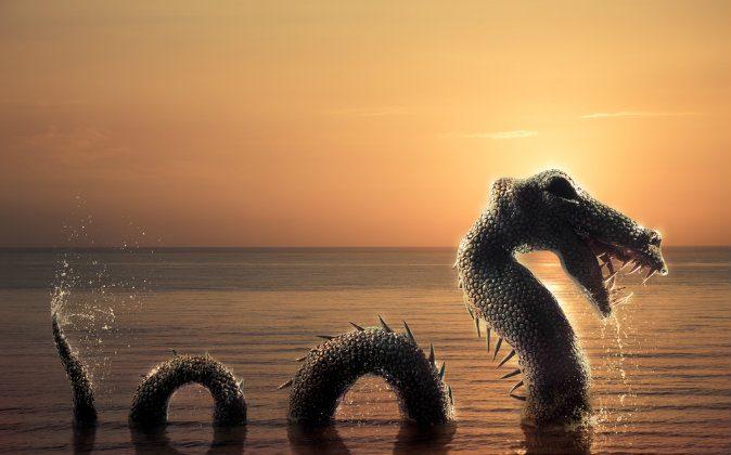 Dibujo ilustrativo del monstruo del Lago Ness. (Shutterstock*)