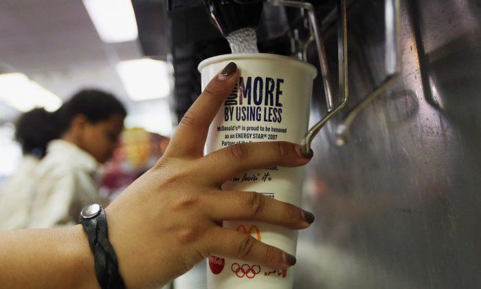Imagen de archio de una sucursal de McDonald's.  (Mario Tama/Getty Images)