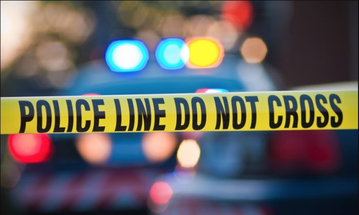 Foto de archivo de una cinta de contención de la policía. (Carl Ballou/Shutterstock)