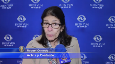 La actriz mexicana Raquel Olmedo queda profundamente emocionada tras ver Shen Yun