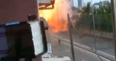 Una nueva explosión en Sti Lanka se registró el 22 de abril de 2019. (Captura de Vídeo)
