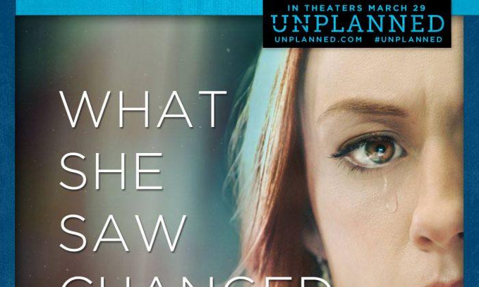 """Un cartel de la película """"Unplanned"""" (Cortesía de unplannedfilm.com)"""