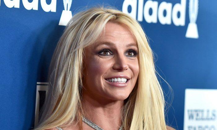 Britney Spears en una foto de archivo de abril de 2018 (Alberto E. Rodriguez/Getty Images)