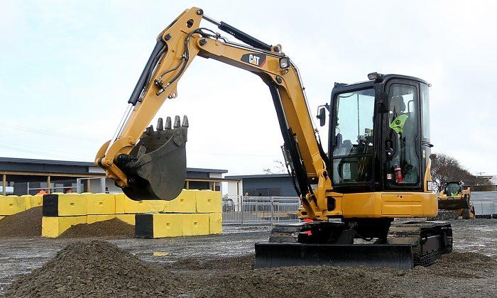 Foto de archivo de una excavadora. (Dianne Manson/Getty Images)
