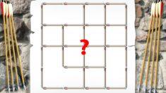 ¿Cuántos cuadrados hay en este patrón? No todos pueden encontrarlos