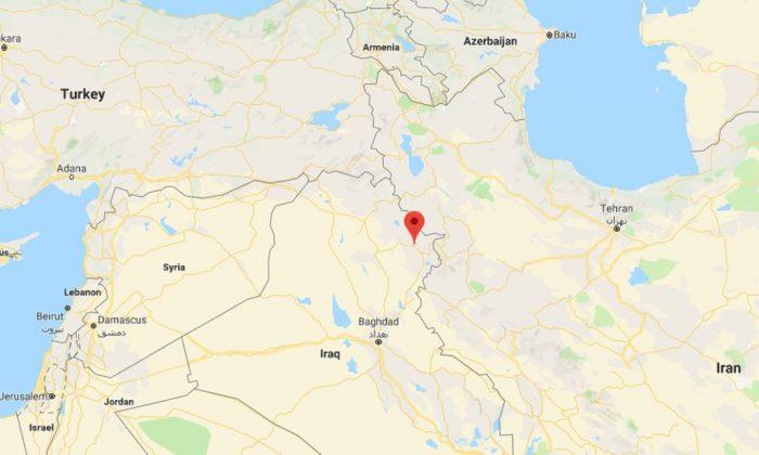 Los investigadores descubrieron la antigua ciudad de Kunara, cerca de las montañas de Zagros. (Google Maps)