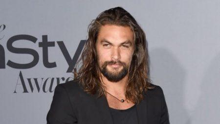 Jason Momoa se afeita la barba y dice adiós a Khal Drogo y Aquaman