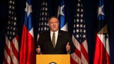 Pompeo critica el rol de China en apuntalar al régimen de Maduro en Venezuela