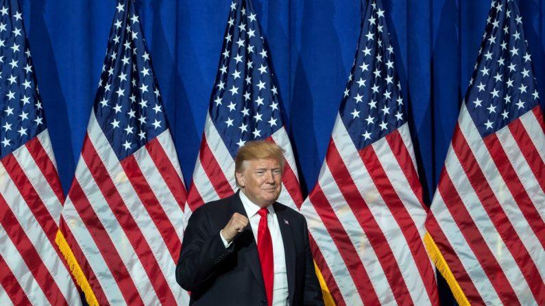 El presidente de EE.UU., Donald Trump, participa en conferencia de la Asociación Nacional de Agentes Inmobiliarios de EE.UU en Washington D.C (Estados Unidos), el 17 de mayo de 2019. EFE