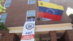 Vecchio recibe embajada de Venezuela en EE.UU. y anuncia
