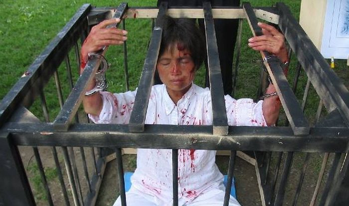Una reconstrucción sobre el maltrato de los prisioneros de conciencia en China. (Minghui)