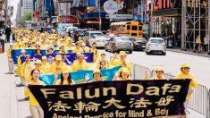 Cerca de 10.000 personas desfilan en Nueva York para denunciar una persecución en China