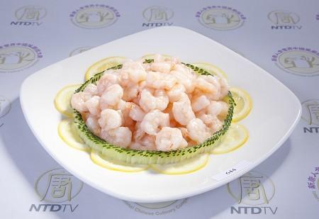 Camarón de Cristal concurso cocina china NTDTV