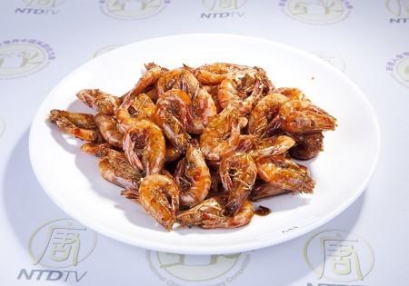 Camarón Cristalizado cocina china