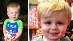 Niño de 2 años fue encontrado aferrado a un acantilado luego de 3 días de búsqueda