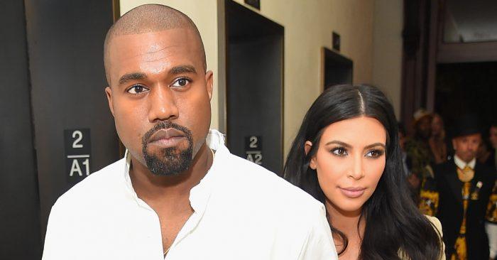 Kim Kardashian y Kanye West (Michael Loccisano/Getty Images para la EDICIÓN)