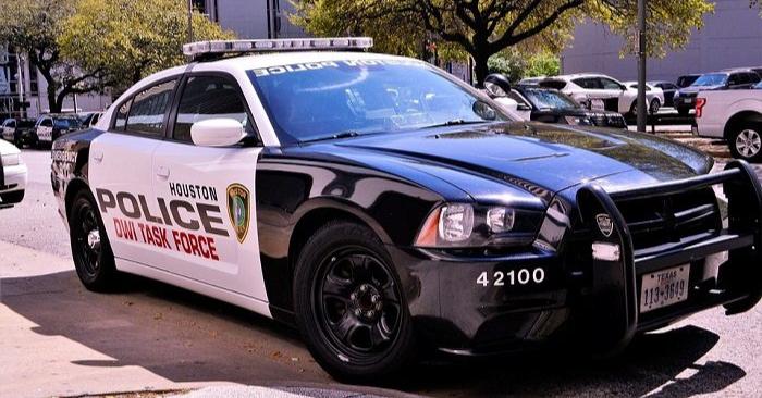 Imagen ilustrativa auto patrullero en Texas. Imagen cc0.