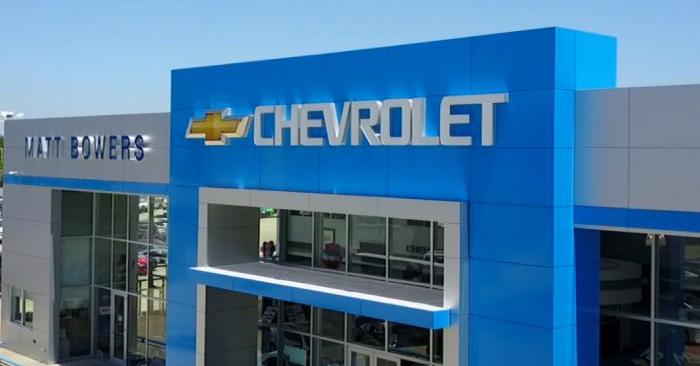 Una foto aérea sin fecha del concesionario de autos Matt Bowers Chevrolet en Slidell. (Cortesía de Matt Bowers Chevrolet)