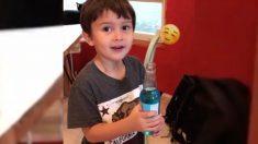Este niño bebe un refresco por primera vez y le provoca una extraña reacción