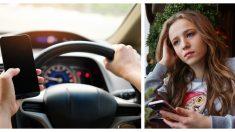 Sufre un grave accidente por leer un mensaje conduciendo. Ahora solo le preocupa salvar vidas