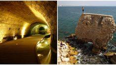 Una tubería tapada terminó en el asombroso descubrimiento de los túneles de los templarios