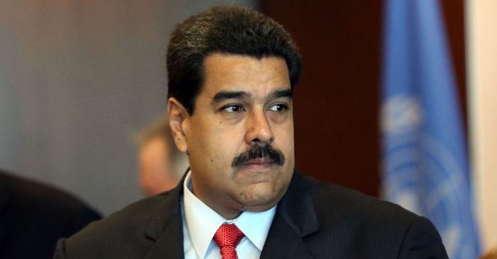Nicolás Maduro. Foto de Spencer Platt/Getty Images.