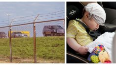 """Encuentra bebé solo en plena carretera con 5500 dólares: """"Todo lo que sé es que Dios intervino"""""""